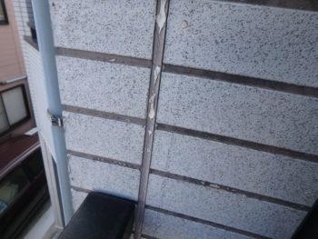 徳島県 北沖洲町 施工前 外壁 チョーキング