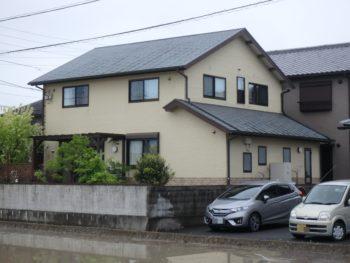 徳島県 丈六町 施工前 裏面 全体