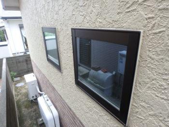 徳島県 丈六町 施工前 建具 コーキング