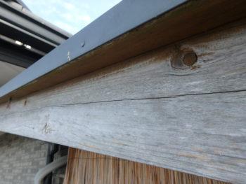 徳島県 石井町 施工前 木部 劣化