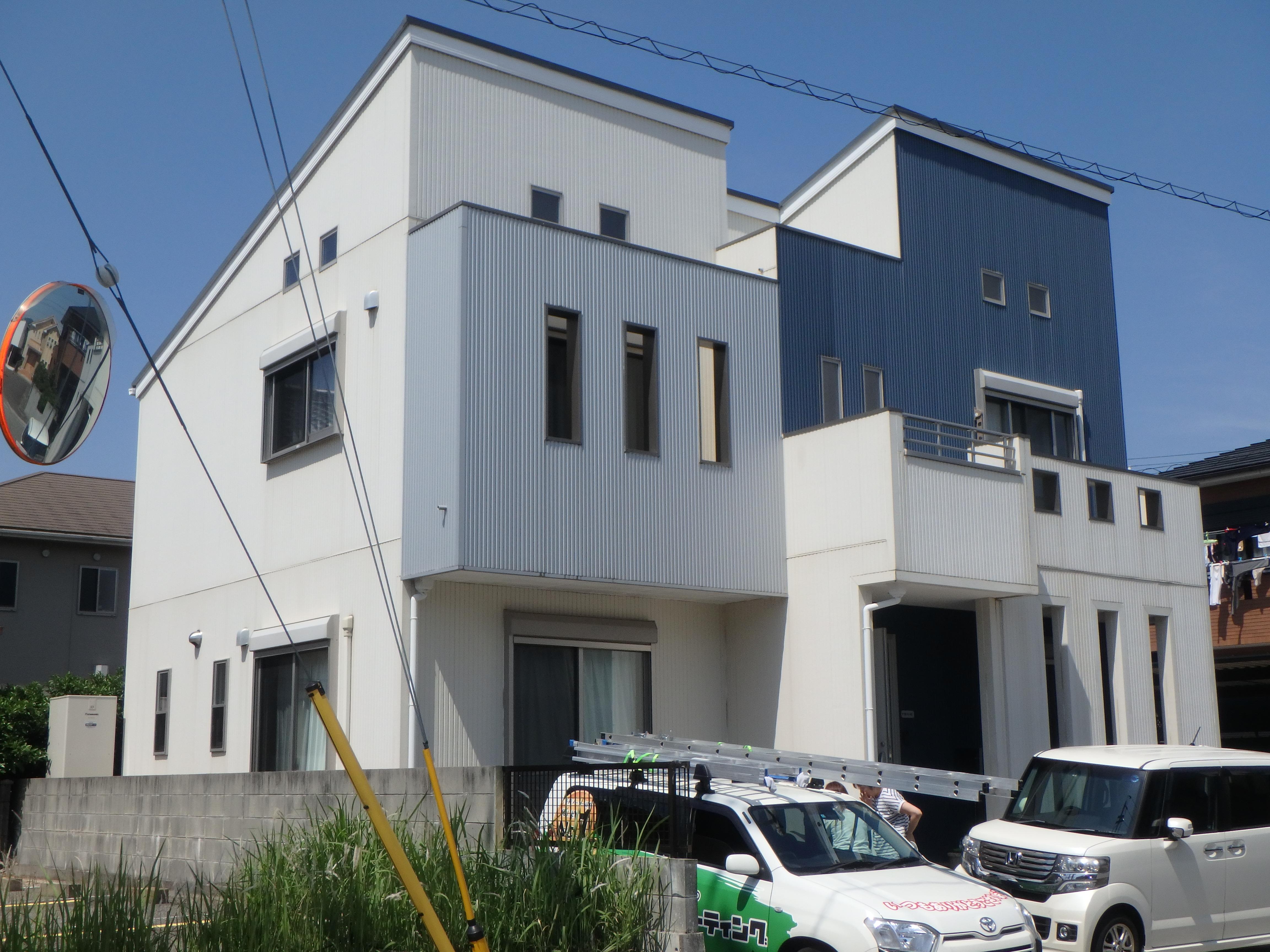 徳島県 新浜本町 施工前 正面 全体