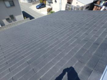徳島県 新浜本町 施工前 屋根 スレート瓦