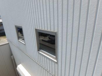 徳島県 新浜本町 施工前 外壁 汚れ