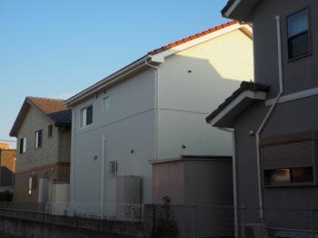 徳島県 松茂町 施工後 全体 裏面