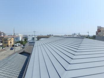徳島県 末広町 施工前 屋根
