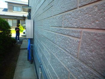 徳島 藍住 施工前 外壁 劣化
