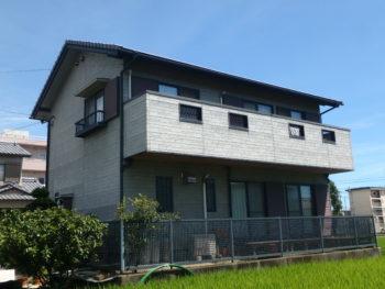 徳島 藍住 施工前 正面 全体