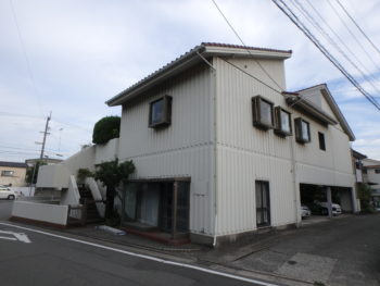 徳島県 城南町 施行前 側面 全体