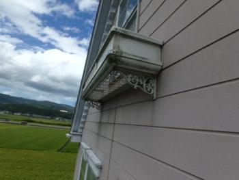 徳島県 板野町 施工前 外壁 汚れ
