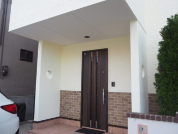 徳島県 丈六町 施工後 玄関
