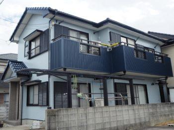 徳島市津田町 外壁塗装&外壁張り 屋根塗装 施工事例