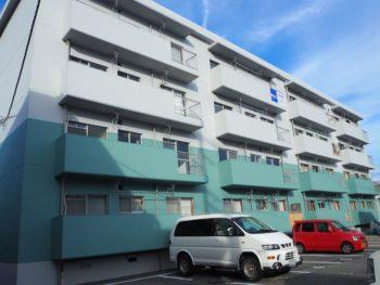 【徳島市南昭和町マンション外壁塗装】施工例SKハイツ様