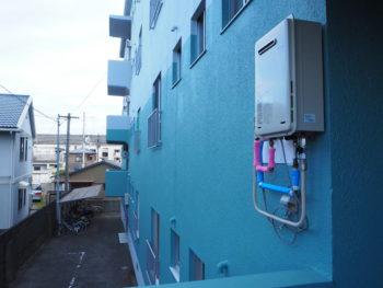 徳島県 南昭和町 施工後 マンション 壁面 ダイナミックトップ