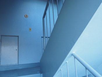 徳島県 南昭和町 施工後 マンション 階段室