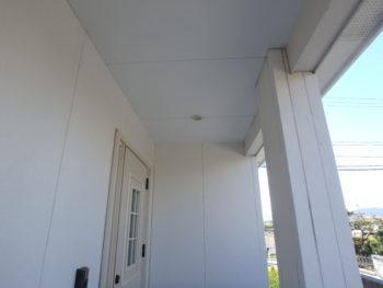 徳島県 川内町 施工前 付帯部 軒天井