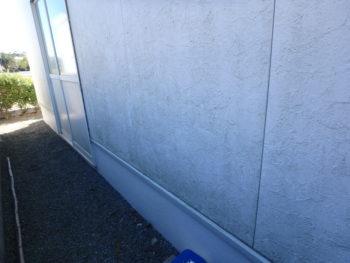 徳島県 川内町 施工前 外壁 苔