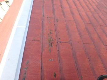 徳島県 阿南市 教会 施工前 屋根 アップ
