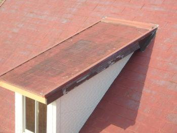 徳島県 阿南市 教会 施工前 屋根 小窓