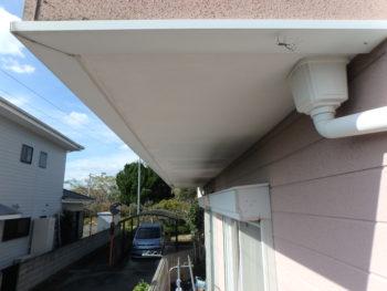 徳島県 鳴門市 施工前 付帯部 軒天井