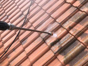 徳島県 松茂町 高圧洗浄 屋根