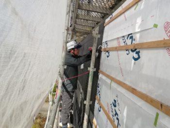 徳島県 阿南市 長生町 大工工事 外壁 カバー ガルバリウム鋼板