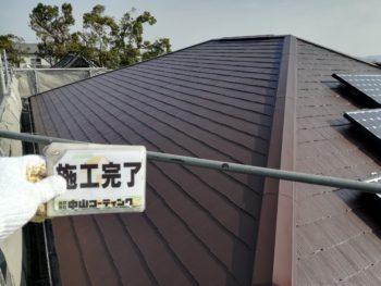 徳島県 上板町 施工後 屋根