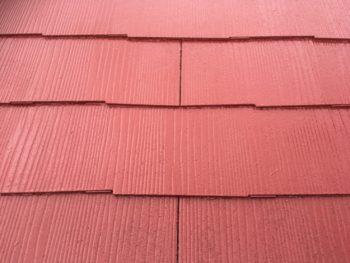 徳島県 阿南市 教会 屋根 塗装後 上塗り