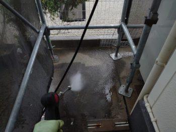 徳島県 藍住町 洗浄 土間 コンクリート