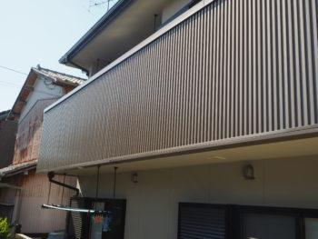 徳島県 北島町 施工後 バルコニー 手すり壁