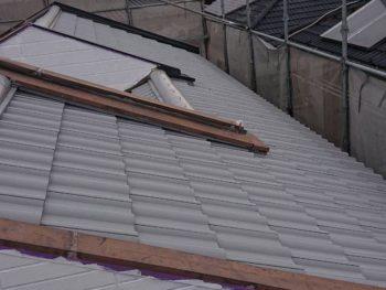 徳島県 北沖洲 屋根塗装後 下塗り