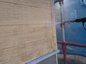徳島県 名東町 高圧洗浄 外壁