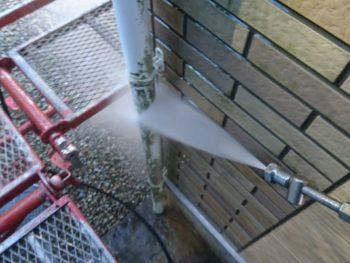 徳島県 名東町 高圧洗浄 雨樋