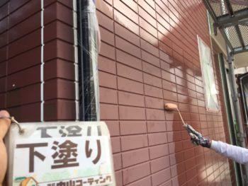 徳島県 南沖洲町 外壁 塗装 下塗り