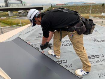 徳島県 川内町 屋根 板金工事 ガルバリウム鋼板