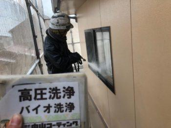 徳島県 北島町 高圧洗浄 窓 サッシ