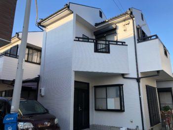 【切妻屋根の塗装時、気を付ける塗装?】徳島市北沖洲町S様 施工例