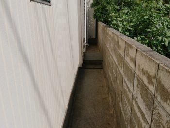 徳島県 新浜本町 高圧洗浄 塀