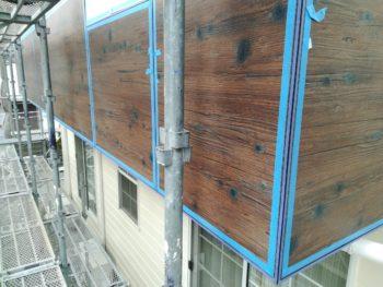 徳島県 板野町 大工工事 手すり壁 コーキング