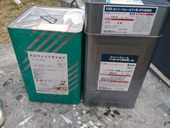 徳島県 中林町 使用材料 外壁 ウォールフッ素4FⅡ