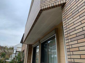 徳島県 名東町 施工前 付帯部 軒天井