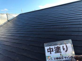 徳島県 丈六町 屋根 塗装後