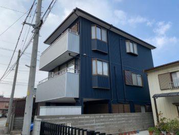 【徳島市 外壁張替え施工例】ガルバリウム鋼板F様
