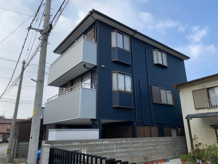 徳島県 末広町 施工後 側面