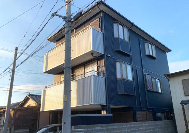 徳島で現在サイディングで金属外壁に張り替えをお考え