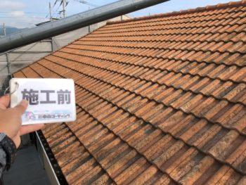 徳島県 松茂町 屋根 塗装 施工前