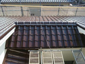 徳島県 城南町 施工後 屋根