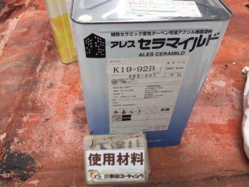 徳島県 南沖洲町 使用材料 軒天井 アレスセラマイルド