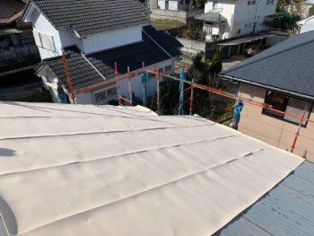 徳島県 名東町 屋根 板金工事 断熱