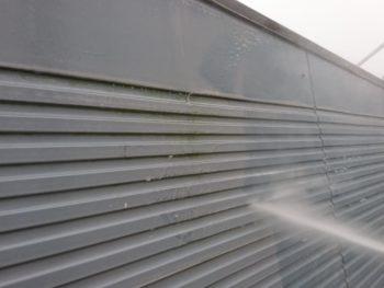 徳島県 阿南市 長生町 高圧洗浄 壁面