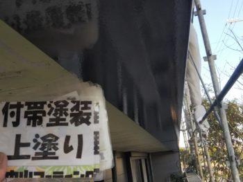 徳島県 阿南市 長生町 細部塗装 破風 鼻隠し